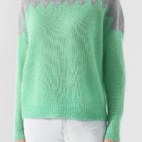 Fantastisk flot strik fra Isabel Marant mainline. Den er i superkid mohair og uld. Blød og lækker. Sælger kun til en god pris. Den har kostet ca. 5000 kr. fra ny.  Jeg handler kun via mobilepay.