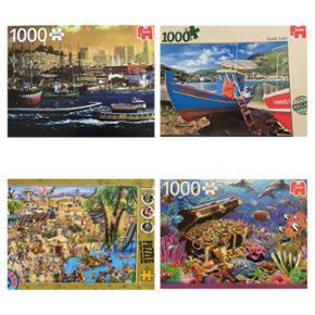 🔸️Divers puzzles 1000 pièces⚠️Complets  🔷️10.- un puzzle ou 15.- les deux!
