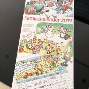 Vægkalender 2019! Ubrugt😎