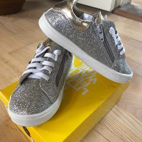 Old Soles glimmer pige sneakers / sko med lynlås str 27, aldrig brugt