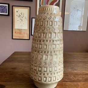Høj keramik vase  Ca. 40 cm høj