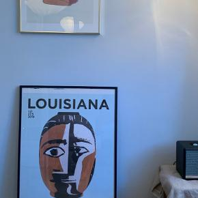 Louisiana plakat fra Picasso udstilling - kan købes med ramme