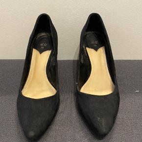 H&M heels, hæl højde 5 cm.