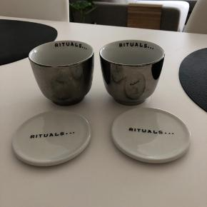 sælger disse Rituals kopper + underkopper, da de ikke bliver brugt