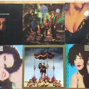 Diverse Lp'er, 20 kr pr stk, Ray Dee Ohh, One Two, Michael Learns to Rock, Sko/Torp