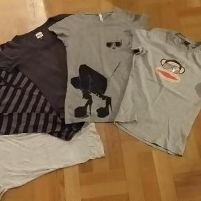 Brand: Paul Frank, Sparkz, Only og Saint Tropez. Varetype: tshirts Farve: Se billederne  Alle 5 stk. t-shirts fra Paul Frank, Sparkz, Only og Saint Tropez - i alt 150 kr.