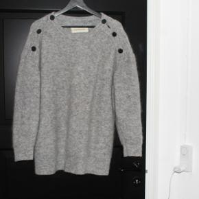 Lækker uldsweater fra Marlene Birger   Kun håndvasket