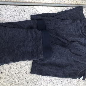 Underbukser er nye/ aldrig brugt Undertrøjer er brugt et par gange om natten Er som nyt  Uld/silke Navy Nyprisen er samlet 500kr