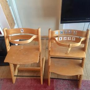 To stk. Trip Trap stole sælges samlet.