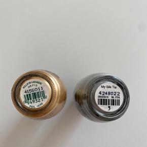 2 neglelakker fra OPI sælges samlet. De er begge på 15 ml og aldrig åbnet. - My Silk Tie - Rollin' In Cashmere Befinder sig på Amager. Sendes ikke