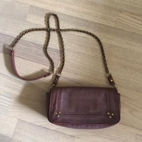 Sælger denne fine Jérôme Dreyfuss taske i modellen Bob. Farven hedder bois de rose.  OBS køber betaler fragt
