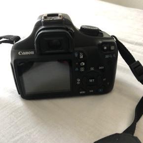 Jeg sælger mit Canon kamera da jeg slet ikke får det brugt.