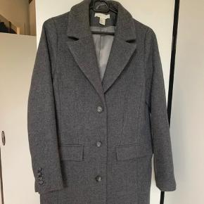 Super lækker uld jakke/frakke,  wool blend