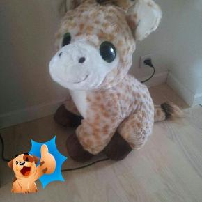 Sød giraf ca 75cm