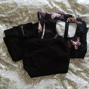 Flere forskellige kjoler med korte ærmer  Str s, m, l Priser fra 10 kr til 30 kr