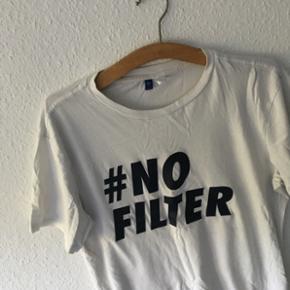 H&M t-shirt #Nofilter  Str M  Cond 9/10