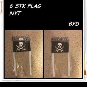 6 stk flag byd