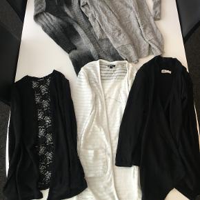 Tøjpakke med 5 stk. cardigans til piger på 9-10 år (140/146)