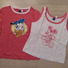 Nyt sæt natbluser med Anders and og Mickey Mouse