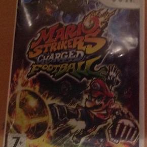 Varetype: Mario Strikers Charged Footbal til WiiStørrelse: - Farve: - Oprindelig købspris: 500 kr.  Mario Strikers Charged Footbal til Wii, kun spillet et par gange.  Mindsteprisen er kr. 100+porto.  Jeg bytter ikke.