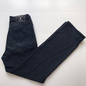 """Vintage """"Versace"""" jeans (uægte, men fin kvalitet) Sort Str 31/32"""