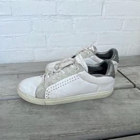 Zadig Voltaire studded leather low top sneakers