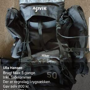 Asivik hiker 50 L.  Se info på billede.
