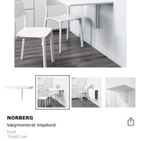 Super lækkert klapbord - næsten ikke brugt! Begynder sig i Aalborg. BYD😊