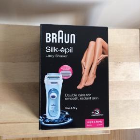 Braun Lady Shaver. Fejlkøb da jeg troede det var en epilator. Kan bruges i badet, se billeder for mere info