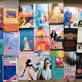 Bøger sælges billigt. 4 billeder.  (Sex And The City - solgt)   1 stk. 10 kr. 3 stk. 25 kr.  Fast pris.  Plus porto.  Bytter ikke.