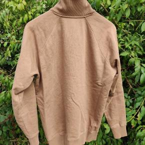 Sweatshirt fra wood wood med 1/4 zip. Størrelse medium.