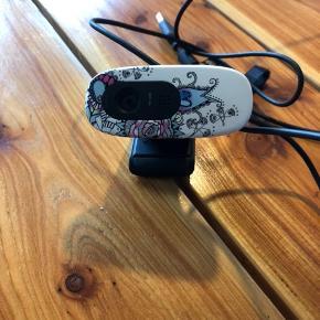 Webcam sælges. Kun brugt få gange.  BYD.