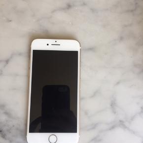 IPhone 7, rosegold - næsten ny - alt virker - 128gb - skriv endelig og BYD