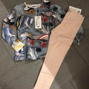 Varetype: Ny sæt bluse og leggings Farve: Se billede  Ny med mærke  Bytter ikke  Mp 350 over mobilepay og ellers ts gebyr Sender med dao