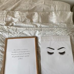Sælger disse 2 plakater fra desenio i 30x40💙