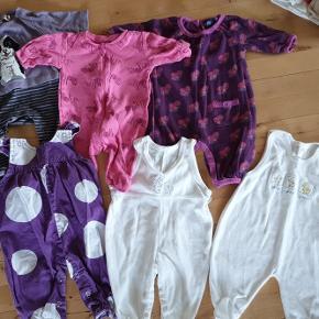 Tøjpakke str. 56. Begrænset hvor meget tøjet er brugt, derfor hverken pletter eller huller.