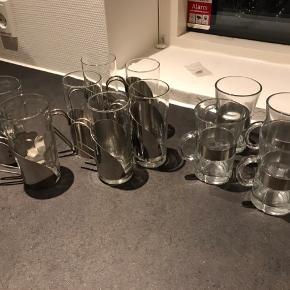 Irish coffee glas sælges 3 forskellige mærker Der er 4 fra Rosendahl 11 stk i alt. Alt eller intet 😊