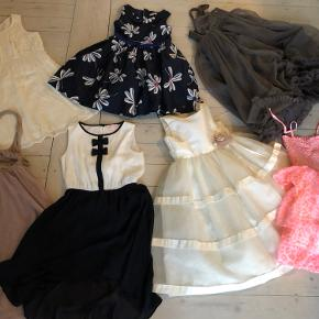 Superfine kjoler i str 9-10 år. Forskellige klassiske mærker. Sælges samlet for 475kr!