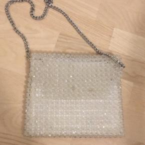 Topshop perle taske aldrig brugt