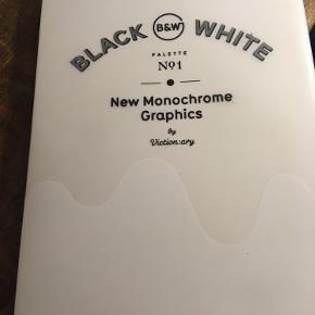 Palette no1 Black & White New Monochrome Graphics vy Viction:ary est 2012. 75kr Kan hentes kbh v eller sendes for 40kr dao