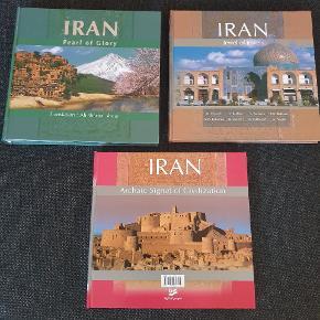 Foto bøger med masser af flotte billeder fra Iran.  Kom med et budm  Køber betaler for fragt med Dao eller kan evt afhentes på Østerbro.