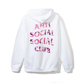 Anti Social Social Club hættetrøje