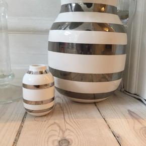 Stor og lille kahler vase, rigtig fin stand, sælges billigt!