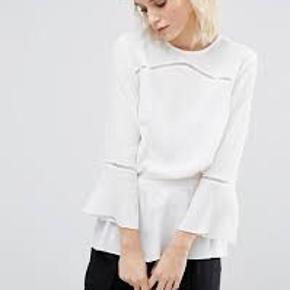 Fin skjorte fra Gestuz i style: Dobby Blouse. Skjorten er sat billigt til salg grundet et par pletter som det ses på sidste billede. De er dog ikke tydelige på lang afstand og skjorten kan altså sagtens stadig bruges uden at de bemærkes <3