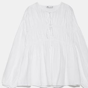 Sælger denne super fine hør bluse fra zara (str xs men passer en S!!)