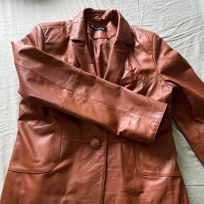 Broch Leather jakke