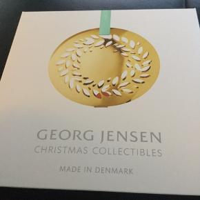 George Jensen juleuro  nyt og ubrugt —-kun pakket ud til foto  2016 magnolia krans med 2 farver band  Sender + porto