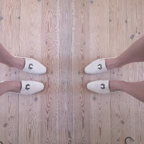 Ægte læder loafers med krapper 🦀