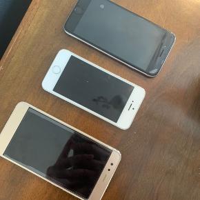 IPhone 6 16GB 800 kr IPhone 5 400 kr Hauwei p10 brugt i 3 mdr. Sælges for  kr nypris 2100 kr