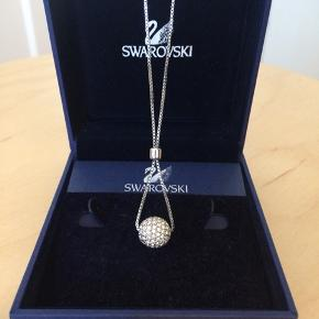 Swarovski classic necklace   !!! One stone is missing !!!  Overall in good condition